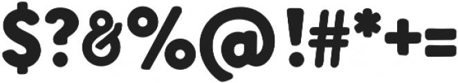 Sandarna Black otf (900) Font OTHER CHARS