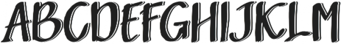 Sandbrain 3D otf (400) Font UPPERCASE