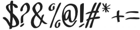 Sandbrain Regular otf (400) Font OTHER CHARS