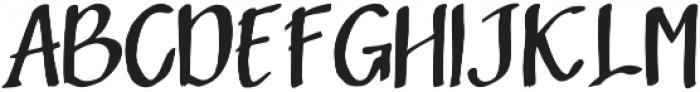 Sandbrain Regular otf (400) Font UPPERCASE