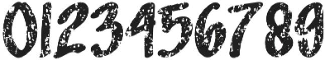 Sandbrain Rough otf (400) Font OTHER CHARS