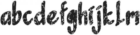 Sandbrain Rough otf (400) Font LOWERCASE
