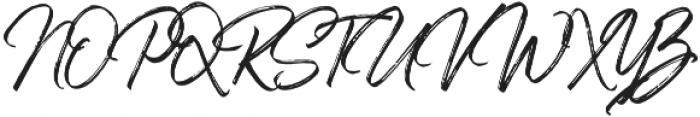 Sandbrush 02 otf (400) Font UPPERCASE