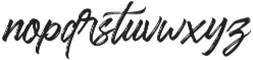 Sandbrush 02 otf (400) Font LOWERCASE