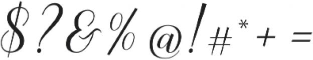 Sandhya otf (400) Font OTHER CHARS
