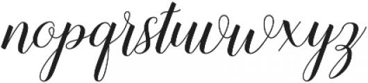 Sandhya otf (400) Font LOWERCASE