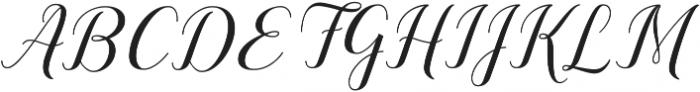 Sandhya ttf (400) Font UPPERCASE