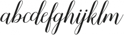 Sandhya ttf (400) Font LOWERCASE