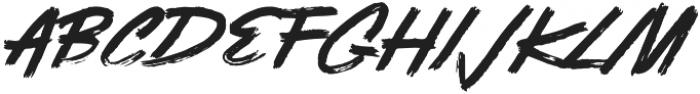 Sandora otf (400) Font UPPERCASE