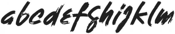 Sandora otf (400) Font LOWERCASE