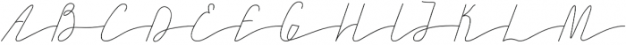 SandrineThin otf (100) Font UPPERCASE