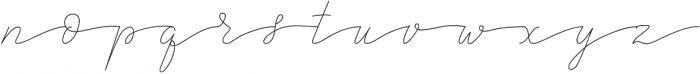 SandrineThin otf (100) Font LOWERCASE