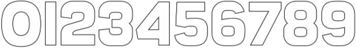 Sandwich Stroke otf (400) Font OTHER CHARS