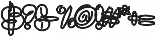 Sanflava Bold otf (700) Font OTHER CHARS
