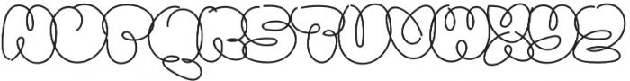 Sanflava otf (400) Font UPPERCASE