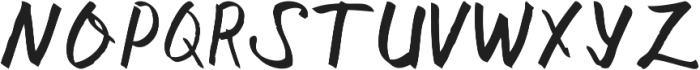 Sangkalaen Font ttf (400) Font UPPERCASE