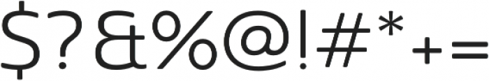 Sangli otf (400) Font OTHER CHARS