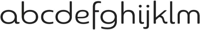 Sangli otf (400) Font LOWERCASE