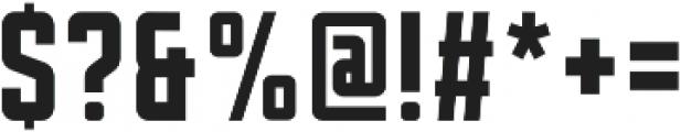 Sanhurst Condensed otf (400) Font OTHER CHARS