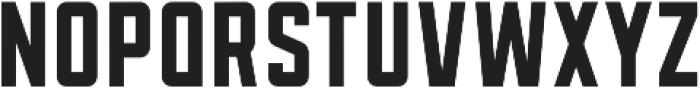 Sanhurst Condensed otf (400) Font LOWERCASE