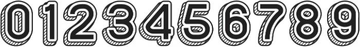 Sans One Vintage otf (400) Font OTHER CHARS