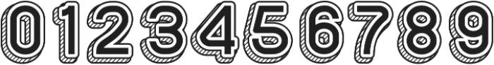 Sans One Vintage ttf (400) Font OTHER CHARS