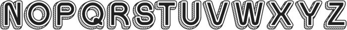Sans One Vintage ttf (400) Font UPPERCASE
