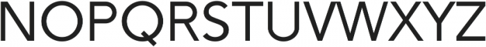 Sans ttf (400) Font LOWERCASE