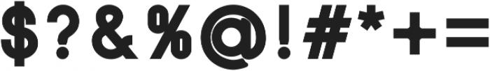 SansOne Bold ttf (700) Font OTHER CHARS