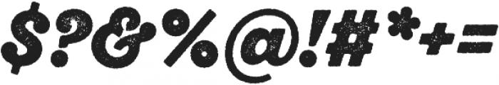 SantElia Rough Alt Black otf (900) Font OTHER CHARS