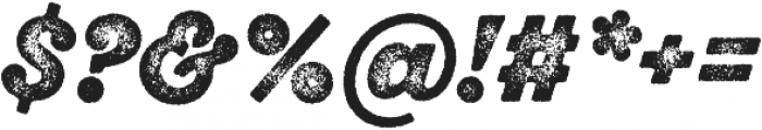 SantElia Rough Alt BlackThr otf (900) Font OTHER CHARS