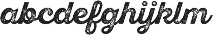 SantElia Rough Alt Bold Thr otf (700) Font LOWERCASE