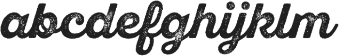 SantElia Rough Alt Bold Two otf (700) Font LOWERCASE