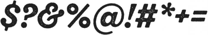 SantElia Rough Alt Bold otf (700) Font OTHER CHARS