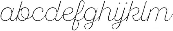 SantElia Rough Alt ExLight Two otf (300) Font LOWERCASE