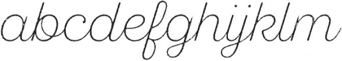 SantElia Rough Alt ExLight otf (300) Font LOWERCASE