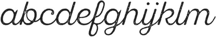 SantElia Rough Alt Light otf (300) Font LOWERCASE