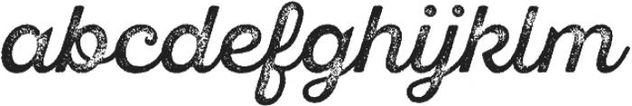 SantElia Rough Alt Regular Thr otf (400) Font LOWERCASE