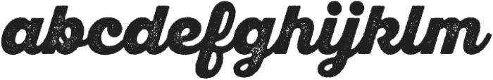 SantElia Rough Black otf (900) Font LOWERCASE