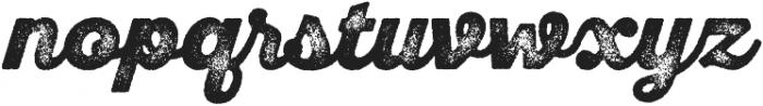 SantElia Rough BlackThr otf (900) Font LOWERCASE