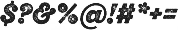 SantElia Rough BlackTwo otf (900) Font OTHER CHARS