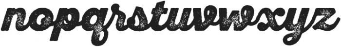 SantElia Rough BlackTwo otf (900) Font LOWERCASE