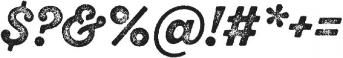 SantElia Rough Bold Thr otf (700) Font OTHER CHARS