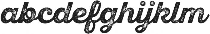 SantElia Rough Bold Thr otf (700) Font LOWERCASE