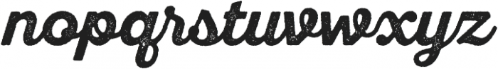 SantElia Rough Bold otf (700) Font LOWERCASE