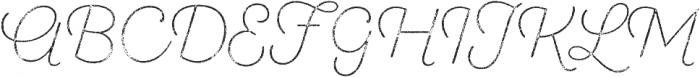 SantElia Rough ExLight Thr otf (300) Font UPPERCASE
