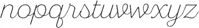 SantElia Rough ExLight otf (300) Font LOWERCASE