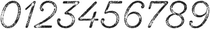 SantElia Rough Light Thr otf (300) Font OTHER CHARS