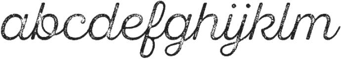 SantElia Rough Light Thr otf (300) Font LOWERCASE
