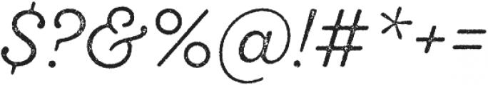 SantElia Rough Light Two otf (300) Font OTHER CHARS